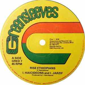 I. Haicideons and I. Jarzif - Rise Ethiopians / Signs Of The Messiah Album