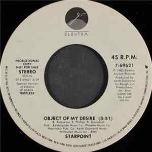 Starpoint - Object Of My Desire Album