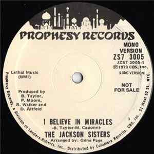 The Jackson Sisters - I Believe In Miracles Album